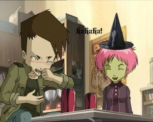 Ulrich and Aelita
