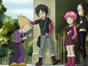 The Lyoko gang