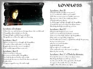 Genesis and Loveless