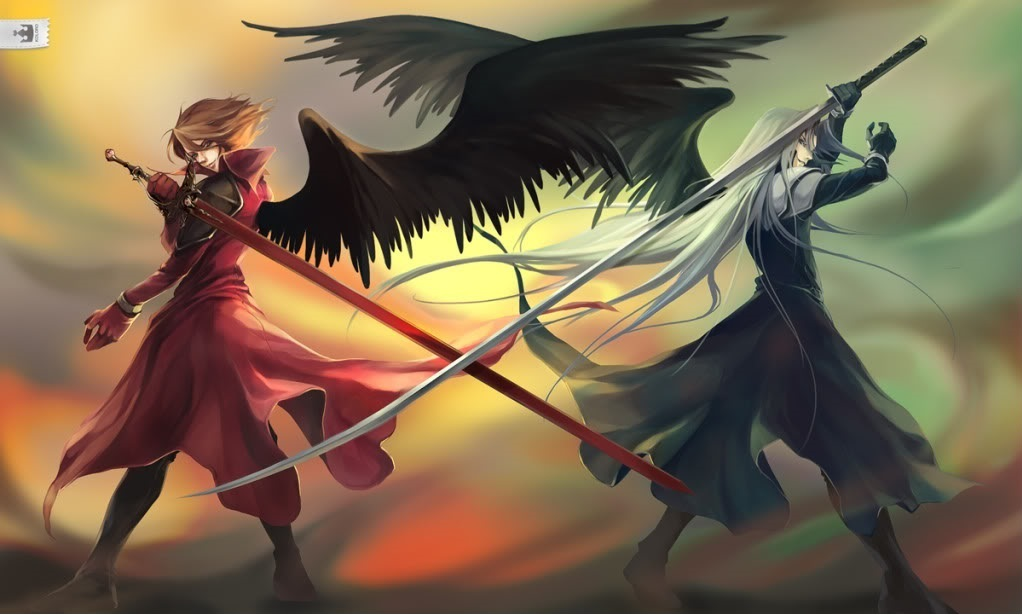 Crisis Core: Final fantaisie VII images Sephiroth and