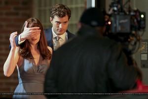 Fifty Shades of Grey - On Set - January 16