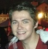Damian McGinty photo probably with a portrait called Damian Icon