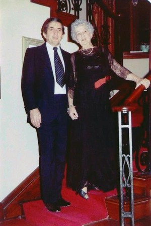 Jonathan Frid and His Mother