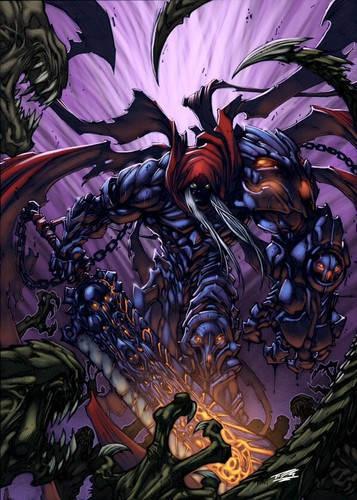Darksiders wallpaper with a red cabbage called Wrath of War