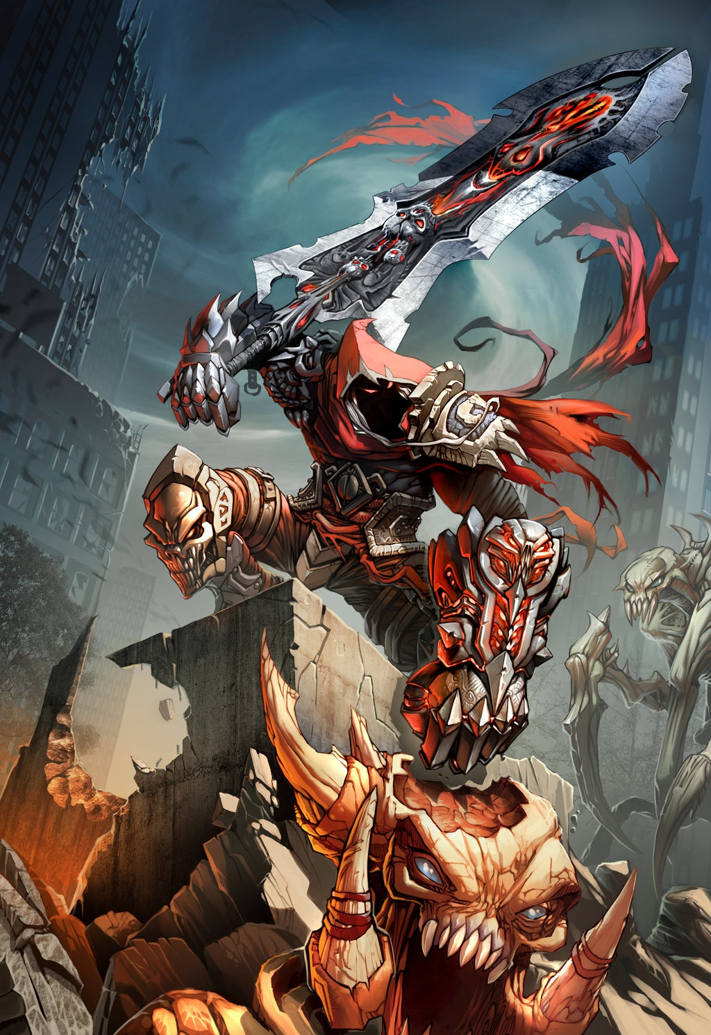 darksiders images wrath of war hd wallpaper and background