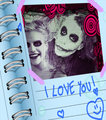 Diary - the-joker-and-harley-quinn fan art