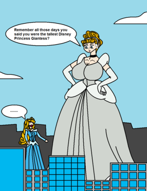 Super Sized cinderella Page 3