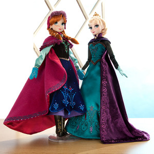 NEW Limited Edition Anna and Elsa Dolls