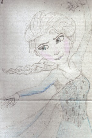 JadetheKilljoy's Elsa Drawing