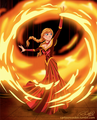 Anna as a fire bender - disney-princess photo