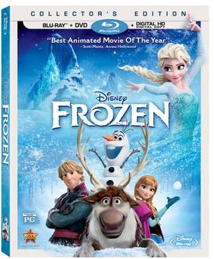 Холодное сердце DVD