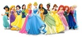 Lineup with Anna and Elsa - disney-princess photo