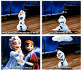 Elsa, Anna, and Olaf - disney-princess photo