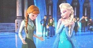 কুইন Elsa and Princess Anna