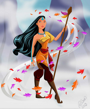 Pocahontas, Airbender