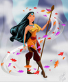 Pocahontas, Airbender - disney-princess photo