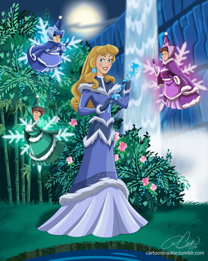 Princess Aurora of the Northern Water Tribe