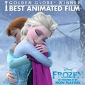 Frozen won Golden Globe - disney-princess photo