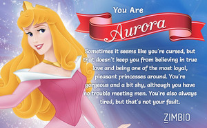 Which ディズニー Princess are you?