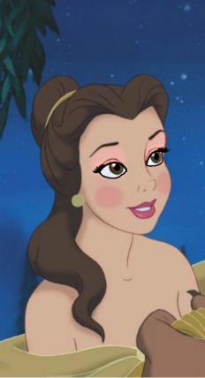 Belle's blush look!