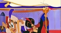 Disney Princess Screencaps - The Sultan, Carpet, Prince Aladdin, Jafar & Iago - disney-princess photo