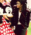 Michael Jackson And Minnie Mouse
