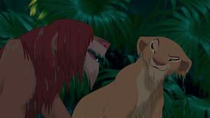 Simba And Nala Having Fun