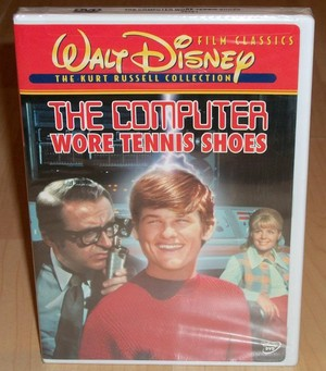 """1969 Disney Film, """"The Computer Wore tenis Shoes"""" On DVD"""