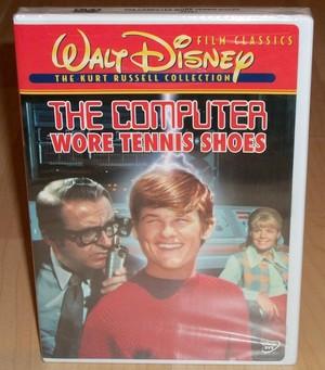 """1969 디즈니 Film, """"The Computer Wore 테니스 Shoes"""" On DVD"""