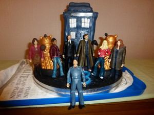 My Birthday Cake (and figures)