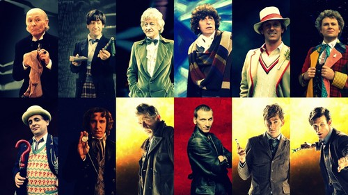 Doctor Who wallpaper probably with a business suit entitled The Twelve Doctors