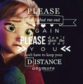 Frozen Quotes! <3