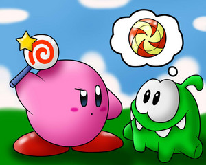 Kirby and cut the rope