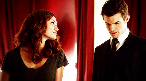 Elijah & Hayley Обои possibly with a business suit, a suit, and a well dressed person titled Elijah and Hayley