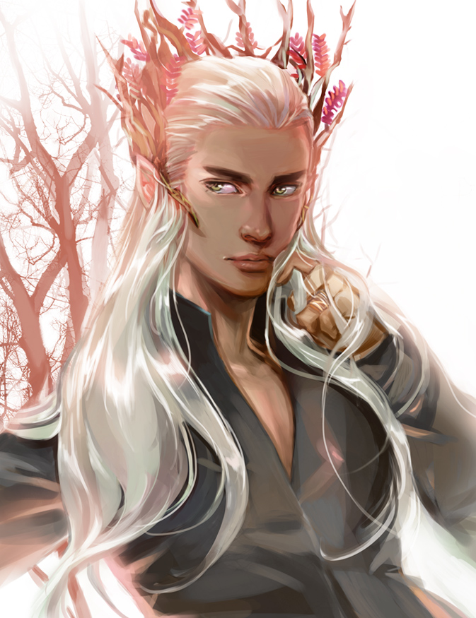 thranduil images elven art hd wallpaper and background photos 36474941