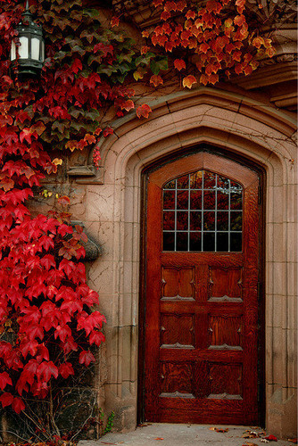 Autumn wallpaper with a window box and a fanlight entitled Enchanted Door & Autumn images Enchanted Door wallpaper and background photos ... Pezcame.Com