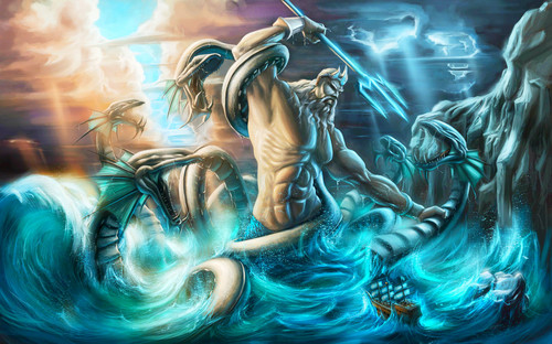 Fantasy wallpaper called Poseidon