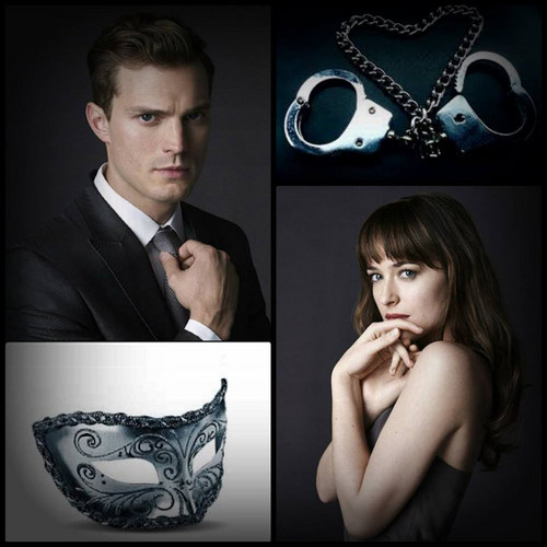 Fifty Shades of Grey wallpaper possibly with a business suit and a triceratops entitled Fifty Shades of Grey