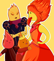 Flame Siblings  - flame-princess fan art
