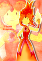 Fire In My Hand  - flame-princess fan art