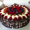 tasty fruit cake