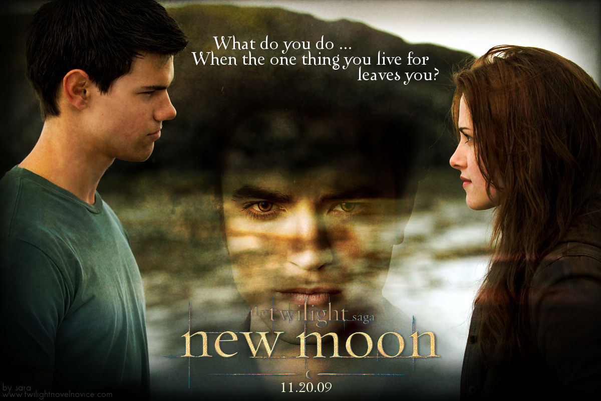 forever love twilight images new moon, jacob and bella hd wallpaper