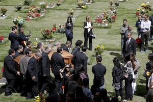 Former Venezuelan Beauty Queen Monica Spear's Funeral