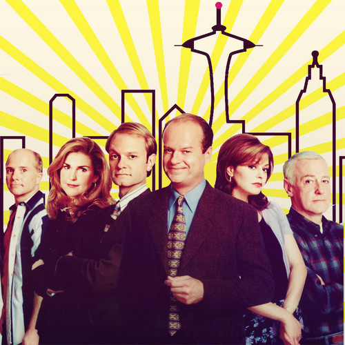 Frasier fondo de pantalla with a business suit entitled Frasier :D