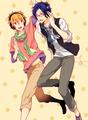 Nagisa and Rei