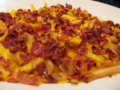 delicious bacon cheese fries - french-fries photo