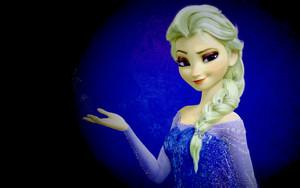 Elsa in Blue