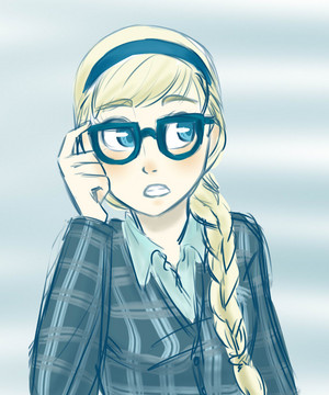 Elsa with Glasses