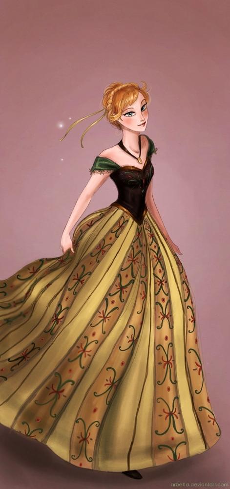 Princess anna frozen fan art 36426927 fanpop