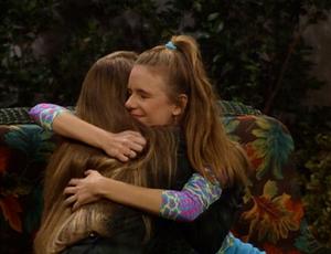 A Hug Between friends